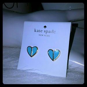 Kate spade spades heart Earrings